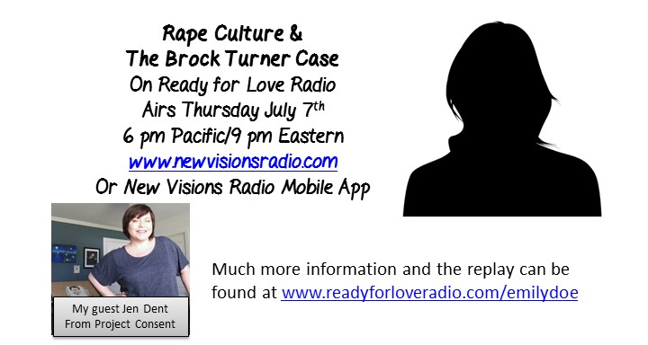 Rape Culture - Emily Doe - Brock Turner - Project Consent