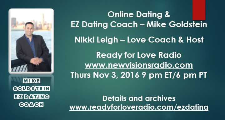 Mike Goldstein Online Dating - EZ Dating Coach