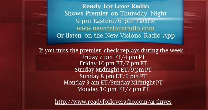 Ready for Love Radio with Nikki Leigh Love and Relationship Coach