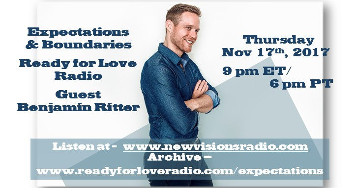 Expectations and Boundaries with Benjamin Ritter on Ready for Love Radio with Nikki Leigh