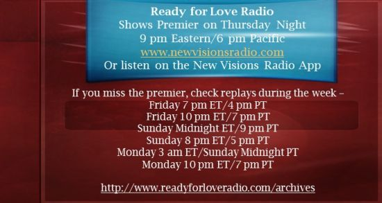 Ready for Love Radio with Nikki Leigh Love Coach and Radio Host