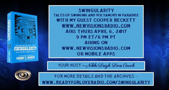 Swingularity by Cooper Beckett on Ready for Love Radio with Love Coach and Host Nikki Leigh