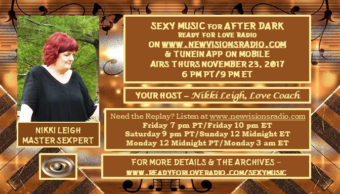 Sexy Music for After Dark with Nikki Leigh
